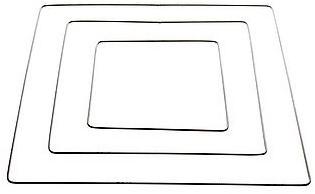Metalen frame vierkant