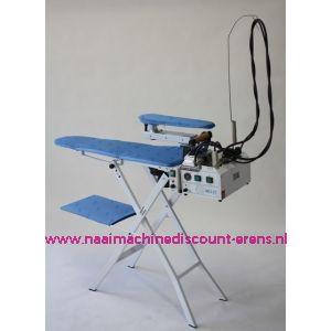 Combinatie strijktafel BIELLE 1A18A + 1F07 - incl. palletbezorging aan huis