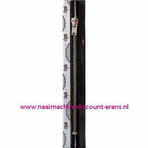 Opti rits M40 18cm zilv (stk) / 001.8053.18