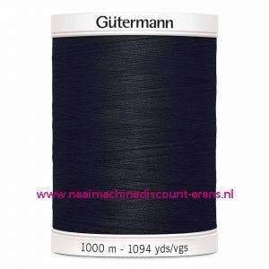 Gütermann Polyester 1000meter (coon / color 000