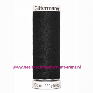 Gütermann Polyester 200meter (coon) / color 000