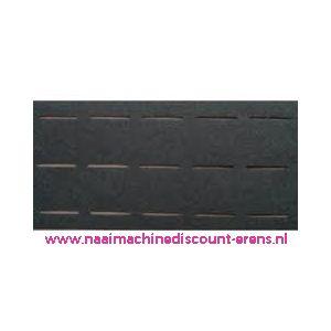 Plak-en-vouw-om 2,5 Cm Zwart - 10002