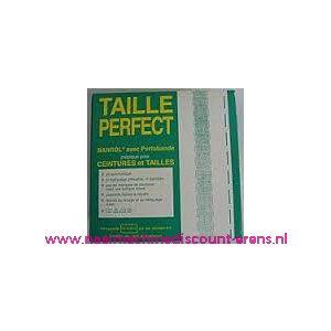 Taille Perfect vlieseline met extra versteviging 4,0 Cm Wit - 10006