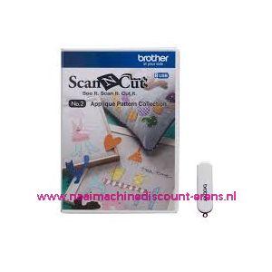 ScanNCut USB Nr.2 Applicatie patronen inclusief 50 bestanden / 010094