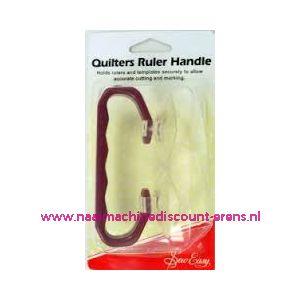 Quilters Ruler Handle Sew Easy