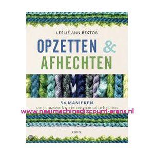 """010320 / Opzetten & Afkanten """"Leslie Ann Bestor"""""""