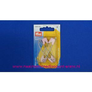 Baby Veiligheidsspelden Roze 55 Mm.Prym art.nr.  086102 - 1043