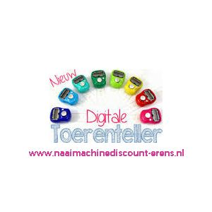Toerenteller digitaal OPRY / 010433