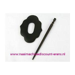 Decoratieve sluiting voor o.a. breiwerken Prym art.nr.417751 / 010504