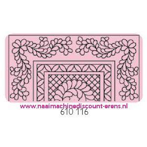 "Sjablonen ""Bloemenkleed"" prym art. nr. 610116 - 10670"
