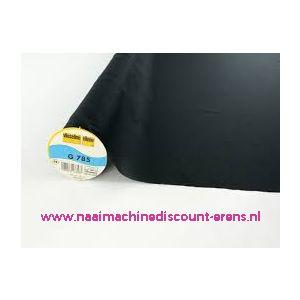 Vlieseline G 785 zwart - 10756