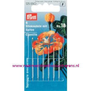 Borduurnld Met Punt St. No.18 Zi/Go-Kl 1,20X50 Mm prym125550 - 1076