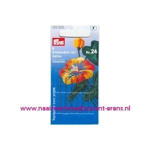 001078 / Borduurnld Met Punt St. No.24 Zi/Go-Kl 0,70X33 Mm prym125553