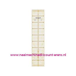 Liniaal 10 x 45cm Prym/Omnigrid art. nr. 611318