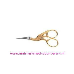 Ooievaarsschaartje Homeij art. nr.: 4318-12 Cm gesmeed