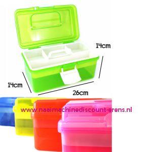 010861 / Naaibox compact colour Groen