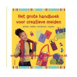010882 / Het grote handboek voor creatieve meiden