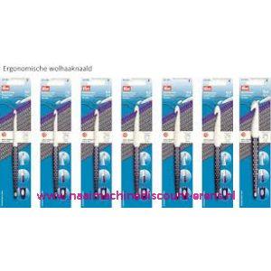 Wolhaaknaald kunststof prym ergonomic 8 Mm 17 Cm art. 218490 / 010935