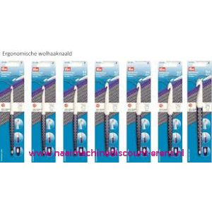 Wolhaaknaald kunststof prym ergonomic 10 Mm 18 Cm art.218492 / 010937