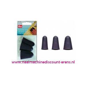 Vingerbeschermers silicoon Prym art. nr . 611914 - 10963