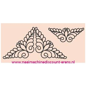 "Sjablonen ""Vleugels"" prym art. nr. 610109 - 10968"
