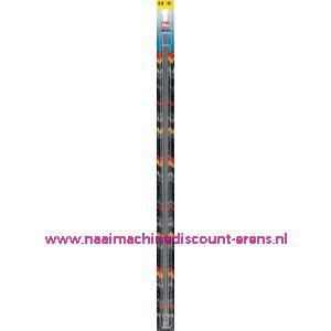 Kousenbreinaalden Staal Zilverkl.40 Cm 2,00 Mm artnr.171203 / 001099