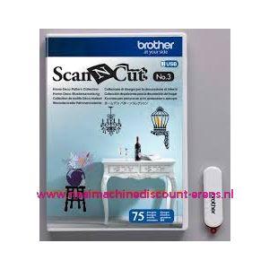 ScanNCut USB Nr.3 Woondecoratie collectie / 011253