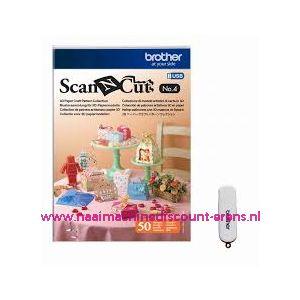 ScanNCut USB Nr. 4 Collectie 3D papiermodellen / 011254