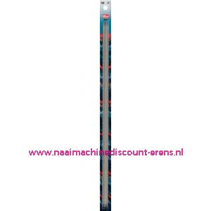 Kousenbreinaalden Alu Grijs 40Cm 3,00 Mm Prym art. nr.191551 / 001134