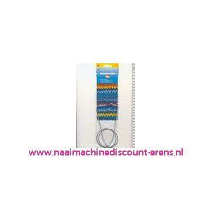 Rondbreinaalden Alu Grijs 70Cm 2,50 Mm Prym art. nr. 211218 / 001155