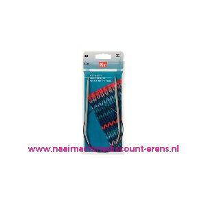 Rondbreinaalden Alu Grijs 60Cm 4,00 Mm Prym art. nr. 211262 / 001166
