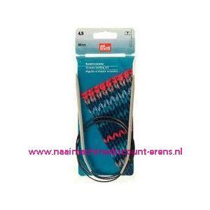 Rondbreinaalden Alu Grijs 80Cm 4,50 Mm Prym art. nr. 211279 / 001171