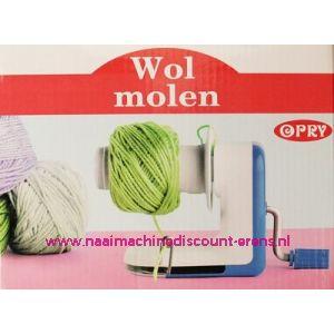 Wolmolen / Wolwinder OPRY horizontaal