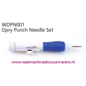 Hand Punchnaald Set OPRY WD-PN-001 / 011749