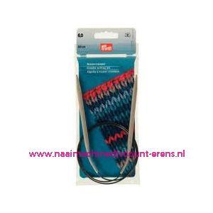 Rondbreinaalden Alu Grijs 80Cm 6,00 Mm Prym art. nr. 211309 / 001175