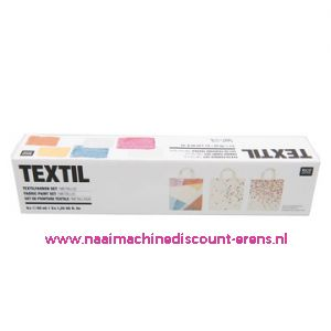 "Textilverfset ""METALLIC"" Rico design 40 ML 6 Stuks - 11803"