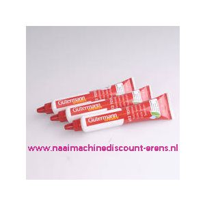 """Gutermann Textiellijm """"de originele"""" HT2 30 gram verpakking"""