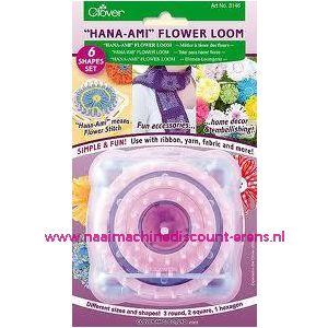 Clover Flower Loom 6 Bloemen Maten Art. 3146 / 011827
