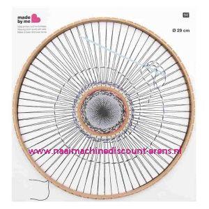 RICO Rond weefraam 29 cm doorsnede art.nr. 500015.551 6 Mm / 011830