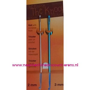 Knooking naalden 2 Mm + 3 Mm PONY / 011834
