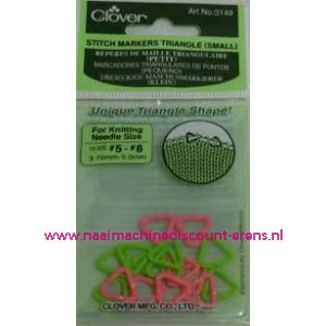 Clover 3149 Stitch marker triangle Small / 011851