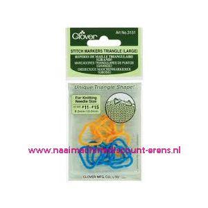 Clover 3151 Stitch marker triangle Large / 011852