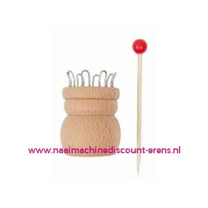 012286 / Rico Punnikpopje - Hout - 8 Haken art.nr. 38001.008