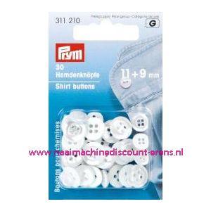 Polyesterknopen Kst 18 Inch Paarlemoer 11+9 Mm art.nr.311210 - 1237