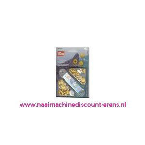 Naaivrijdrukknopen Color Ms Geel 13 Mm Prym art. nr. 390429 - 1321