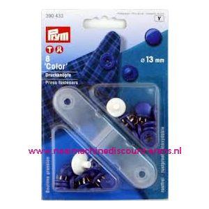 Naaivrijdrukknopen Color Ms Licht-Blauw 13 Mm art.nr. 390433 - 1322