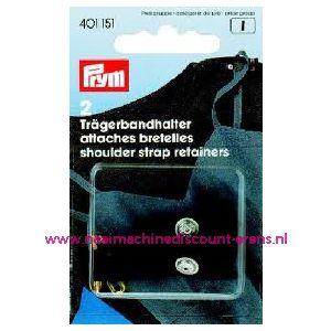 001332 / Schouderbandhoouder Zwart Met Veiligheidsspeld art.nr.401151