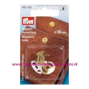 Magneetsluiting Goudkleurig 19 Mm Prym art.nr. 416481