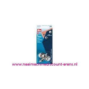 Tenax-Veiligheidssluiting Ms Zilverkleurig 20 Mm nr. 416495 - 1376