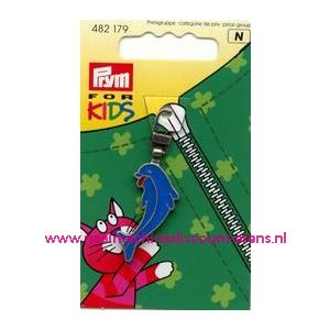 Ritsenschuiver Dolfijn For Kids Prym art. nr. 482179 - 1407